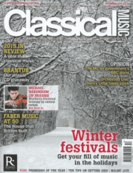 ESO Performance of Elgar/Fraser War Symphony a Classical Music Magazine Premiere of the Year