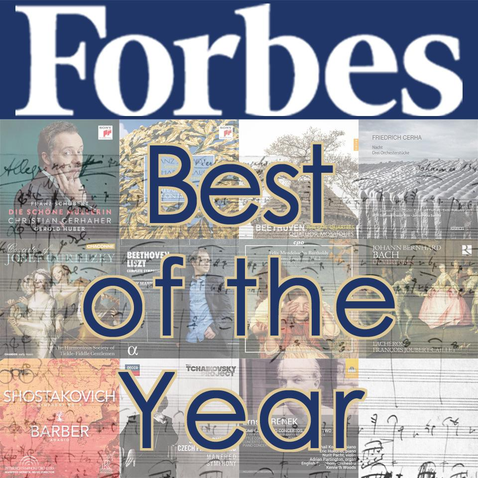 Krenek Piano Concertos vol. 2 named one of Forbes Magazine's Best Classical CDs of 2017