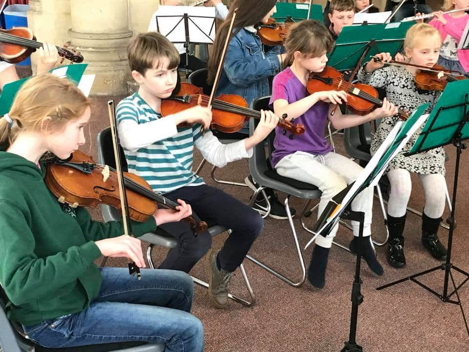 On Stage in Elgar Country- English Symphony Orchestra Celebrate Young People in the Performing Arts, 4-6 May
