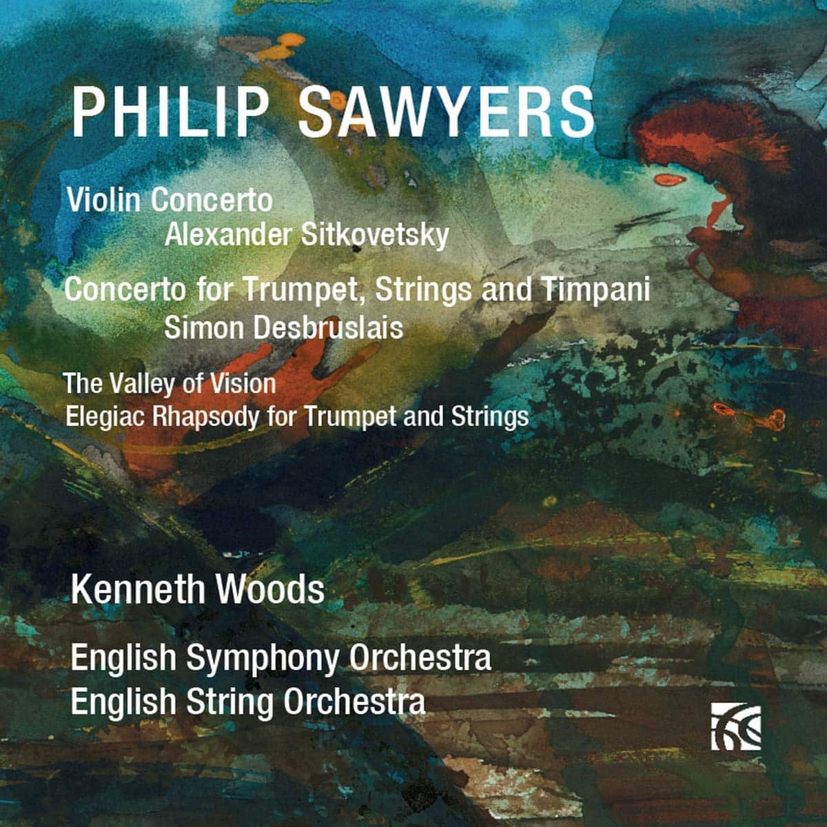 CD Review – 5*'s from Birmingham Post on Philip Sawyers Violin and Trumpet Concerti