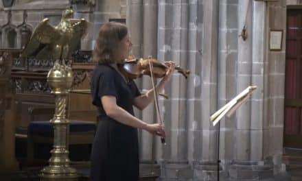 Zoë Beyers – Sonata for solo violin No 5 in G major by Eugène Ysaÿe